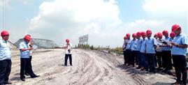铁壁合围 构筑安全环保钢铁防线——bwin官方网站必赢股份磷化工基地举行安全、环境专项应急演练