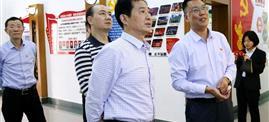 张兴鸿副书记检查指导热博rb88唯一官方网站热博rb88唯一官方网站党建工作