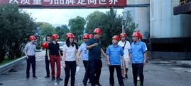 什邡市领导督导热博rb88唯一官方网站热博rb88唯一官方网站有色基地环保工作